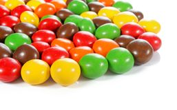 Colorful chocolate candy Royalty Free Stock Photos