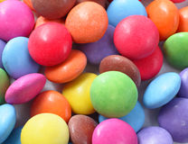 Colorful chocolate candy Stock Image