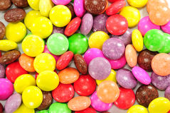 Colorful chocolate candy Royalty Free Stock Image