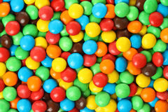 Colorful chocolate coated candy Royalty Free Stock Photography