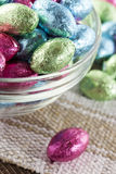 Colorful Chocolate Easter Egg Candy Royalty Free Stock Photo