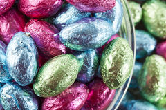 Colorful Chocolate Easter Egg Candy Royalty Free Stock Image