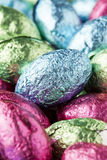 Colorful Chocolate Easter Egg Candy Stock Image