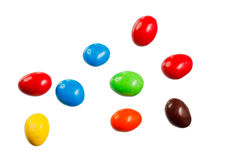 Colorful chocolate Stock Photography