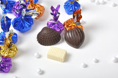 Colorful Chocolates Royalty Free Stock Photo