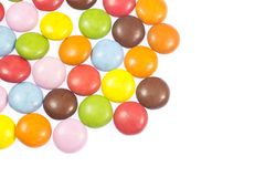 Colorful chocolates Royalty Free Stock Photography