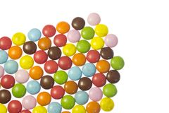 Colorful chocolates Stock Photo