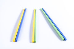 Colorful chopsticks Royalty Free Stock Photography