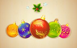 Colorful Christmas Royalty Free Stock Photography