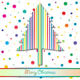 Colorful christmas Stock Images
