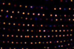 Colorful Christmas abstract background lights Stock Images