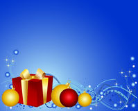 Colorful christmas background Stock Images