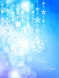 Colorful Christmas background Stock Photography