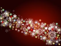 Colorful christmas background Royalty Free Stock Photo