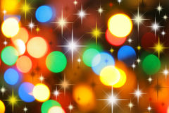 Colorful christmas background Stock Image