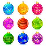 Colorful Christmas Ball Royalty Free Stock Image