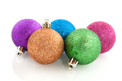 Colorful christmas balls Royalty Free Stock Image