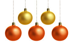 Colorful Christmas balls Royalty Free Stock Photography