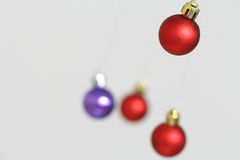 Colorful Christmas balls decorations Royalty Free Stock Photography