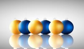 Colorful Christmas balls. Christmas design. Christmas balls background Royalty Free Stock Photo