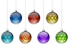 Colorful Christmas balls Royalty Free Stock Image