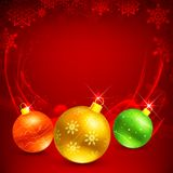Colorful Christmas Bauble Stock Photos