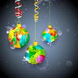 Colorful Christmas Bauble Royalty Free Stock Images