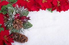 Colorful Christmas Border Royalty Free Stock Photography