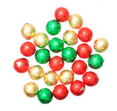 Colorful Christmas candies i Stock Photo