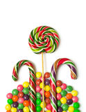 Colorful christmas candy Royalty Free Stock Photos