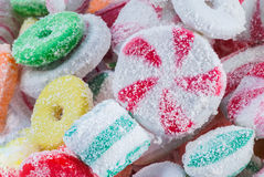 Colorful Christmas Candy Stock Images