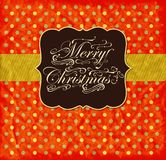 Colorful Christmas card Stock Photo