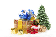 Colorful christmas decoration Royalty Free Stock Image