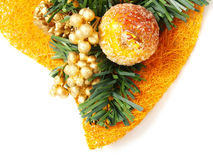 Colorful Christmas decoration with candied fruit Stock Photography
