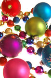 Colorful christmas decorations Stock Photo
