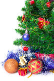 Colorful Christmas Decorations Stock Photos