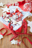 Colorful christmas decorations Royalty Free Stock Photos