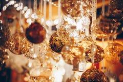 Christmas decorations on Trentino Alto Adige, Italy Christmas market. Colorful Christmas decorations on Trentino Alto Adige, Italy Christmas market royalty free stock photography