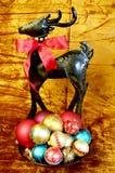 Colorful Christmas Display Royalty Free Stock Photography