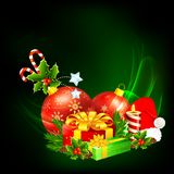 Colorful Christmas Gift Royalty Free Stock Images