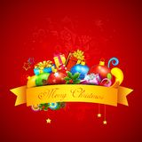 Colorful Christmas Gift Royalty Free Stock Photos