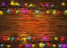 Colorful Christmas LED Light Stock Image