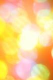 Colorful christmas lights Stock Image
