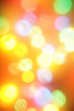 Colorful christmas lights Royalty Free Stock Photo