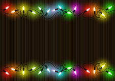 Colorful Christmas Lights Background Royalty Free Stock Photo
