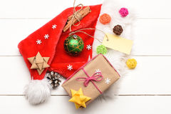 Colorful Christmas or New Year decoration Royalty Free Stock Photos