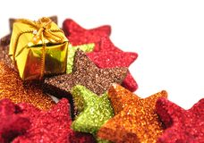 Colorful Christmas ornaments Royalty Free Stock Photo