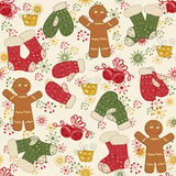 Colorful Christmas pattern seamless Stock Photos