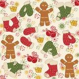 Colorful Christmas pattern seamless Stock Photos
