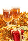 Colorful Christmas theme Royalty Free Stock Image